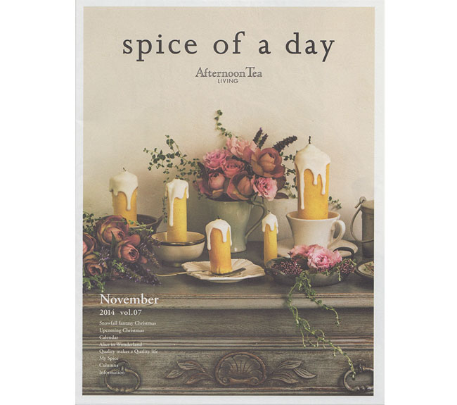 SPICE OF A DAY2014-10
